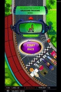 Wacky Races Slot Race