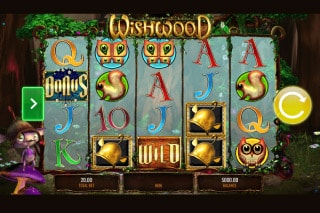 Wishwood Mobile Slot Machine
