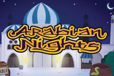 Arabian Nights Mobile Slot Logo