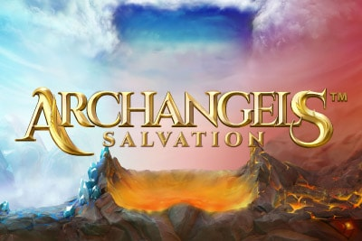 Archangels Salvation Mobile Slot Logo