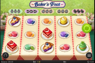 Bakers Treat Mobile Slot Machine