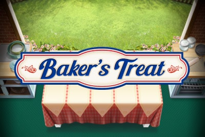 Play'n GO Bakers Treat Mobile Slot Logo