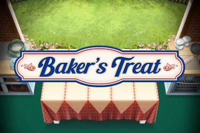 Play'n GO Bakers Treat Mobile Slot Logo