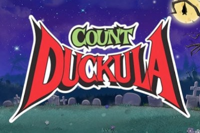 Count Duckula Mobile Slot Logo