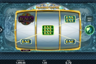 Diamond Empire Mobile Slot Machine