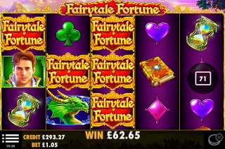 Fairytale Fortune Mobile Slot Wilds Win
