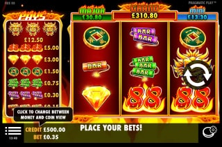 Fire 88 Mobile Slot Machine