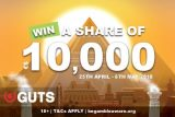 Guts Egypt Promo To Win A Share Of 10,000