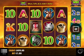 Hot Safari Mobile Slot Machine