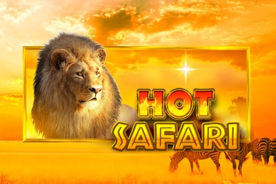 Hot Safari Mobile Slot Logo