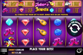 Jokers Jewels Mobile Slot Machine