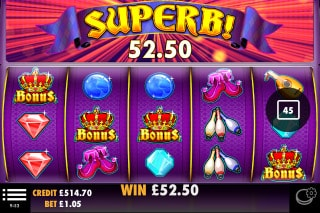 Jokers Jewels Mobile Slot Bonus Win