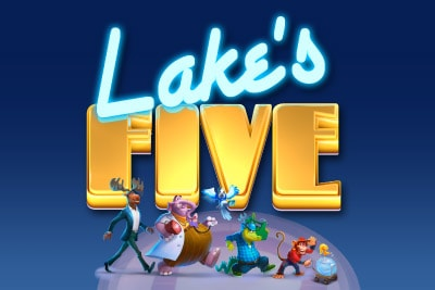 Lakes Five Mobile Slot Logo