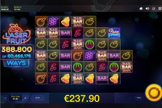 Laser Fruit Mobile Slot With 388,800 Ways To Win