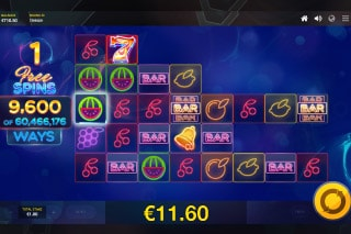 Laser Fruit Mobile Slot Free Spins