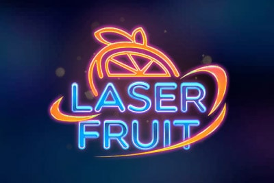 Laser Fruit Mobile Slot Logo