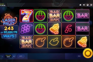 Laser Fruit Mobile Slot Machine