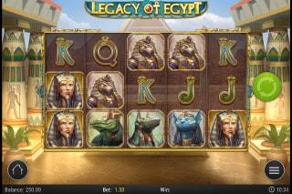 Legacy Of Egypt Mobile Slot Machine
