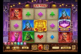 Lucha Maniacs Mobile Slot Machine