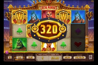 Lucha Maniacs Mobile Slot Free Spins