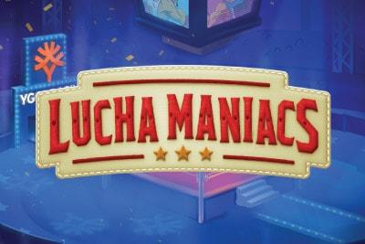 Lucha Maniacs Mobile Slot Logo