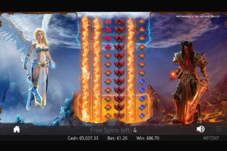 NetEnt Archangels Salvation Mobile Slot Free Spins