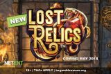 New NetEnt Lost Relics Slot Game Coming May 2018