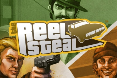 The Real Steal Mobile Slot Logo