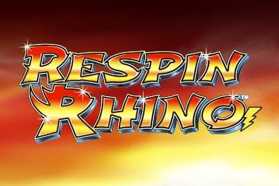 Respin Rhino Mobile Slot Logo