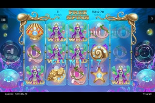 Sirens Kingdom Mobile Slot Free Spins