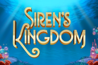 Sirens Kingdom Mobile Slot Logo