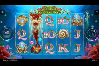 Sirens Kingdom Mobile Slot Wilds