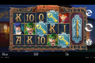 Thunderkick Wild Heist At Peacock Manor Slot Game
