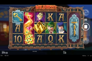 Wild Heist At Peacock Manor Mobile Slot Machine