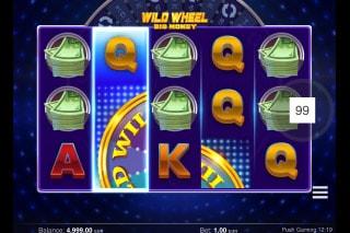Wild Wheel Big Money Mobile Slot Machine