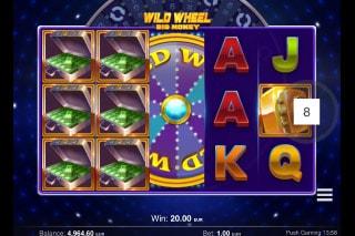 Wild Wheel Big Money Mobile Slot Win
