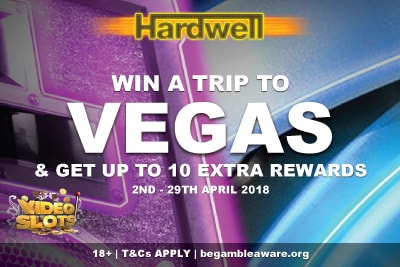 Play Hardwell Slot At Videoslots & Win A Trip To Vegas