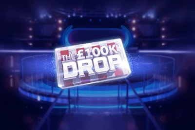 100K Drop Mobile Slot Logo