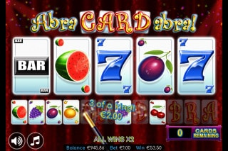 Abracardabra Mobile Slot Bonus Round