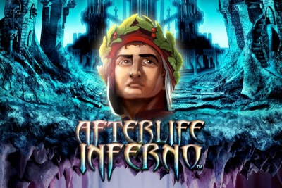 Afterlife Inferno Mobile Slot Logo