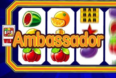 Ambassador Mobile Slot Logo