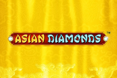 Asian Diamonds Mobile Slot Logo