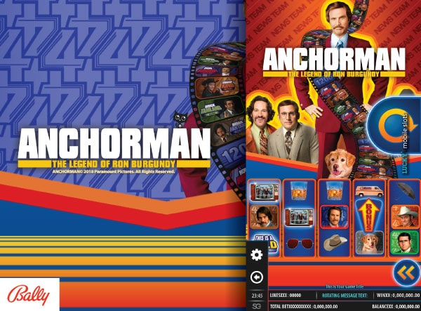 Bally Anchorman Slot Machine