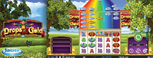 Barcrest Rainbow Riches Drops of Gold Slot Machine