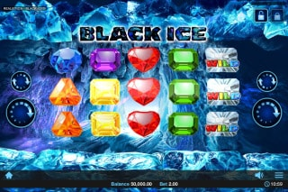 Black Ice Mobile Slot Machine