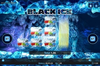 Black Ice Slot Wilds