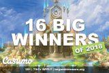 Casumo Casino Sees 16 Big Winner In 2018 So Far