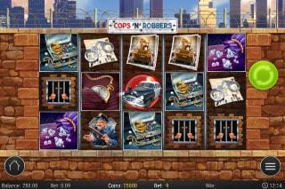 Cops N Robbers Mobile Slot Machine