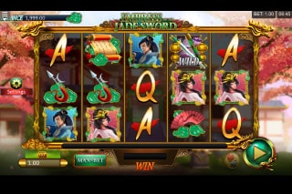 Empress of the Jade Sword Mobile Slot Machine