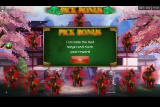 Empress of the Jade Sword Mobile Slot Pick Bonus